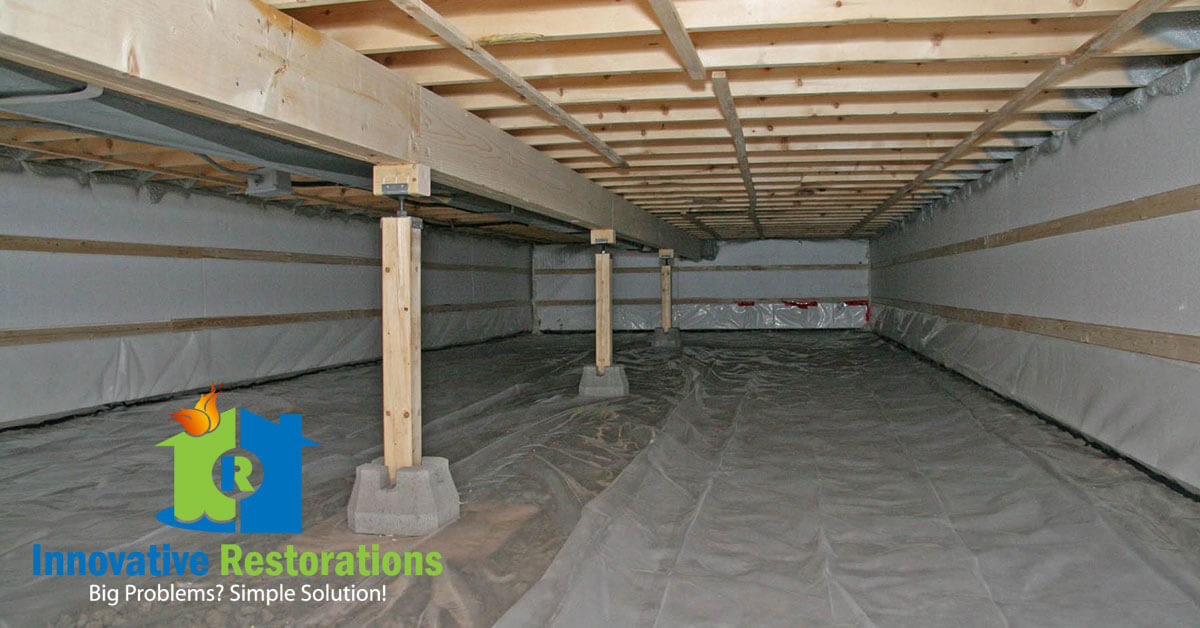 Crawl Space Mold Removal in Crossville, TN