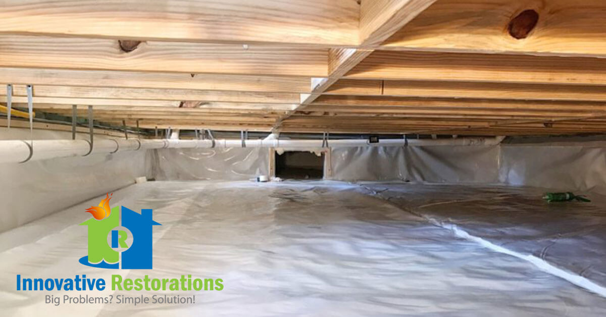Crawl Space Restoration in Crossville, TN