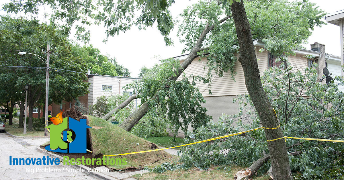 Storm Damage Remediation in Monterey, TN