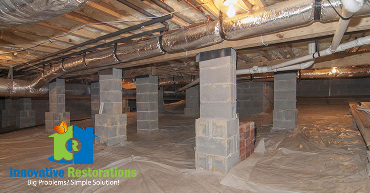 Crawl Space Cleanup in Livingston, TN