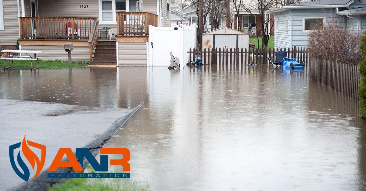 Flood Damage Restoration in Greenville, IN