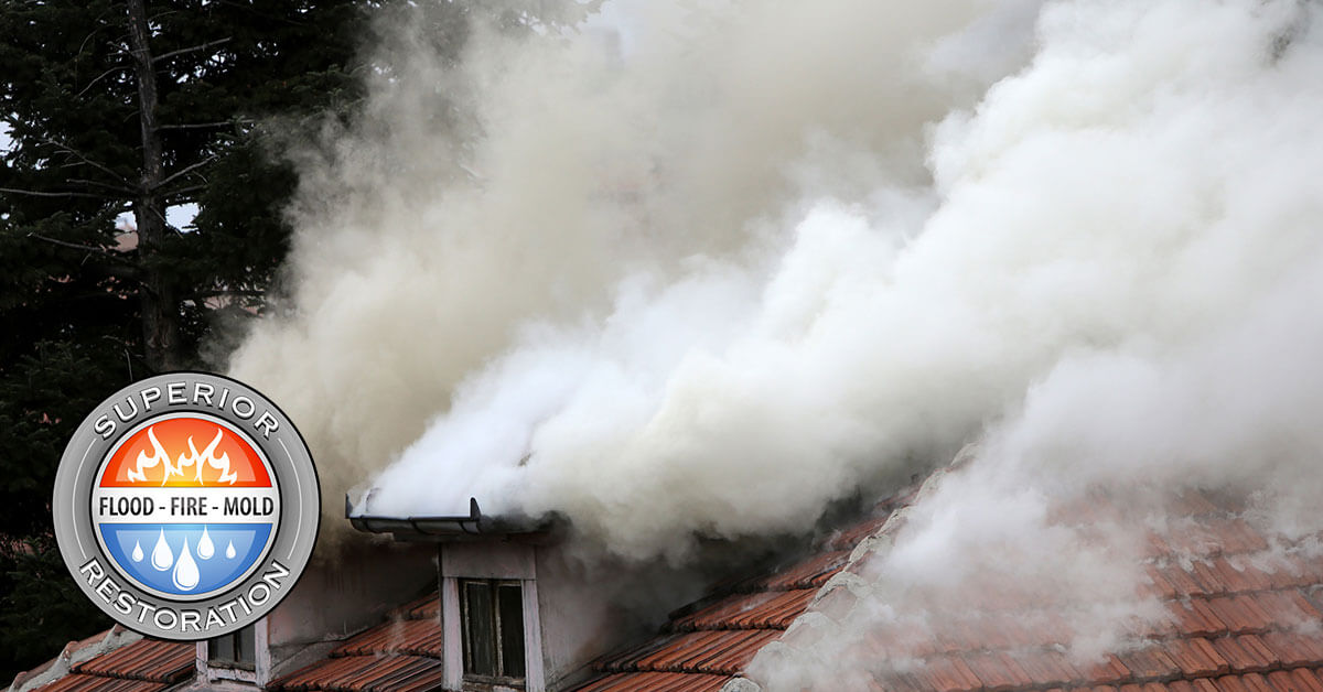 Fire and Smoke Damage Restoration in Del Mar, CA
