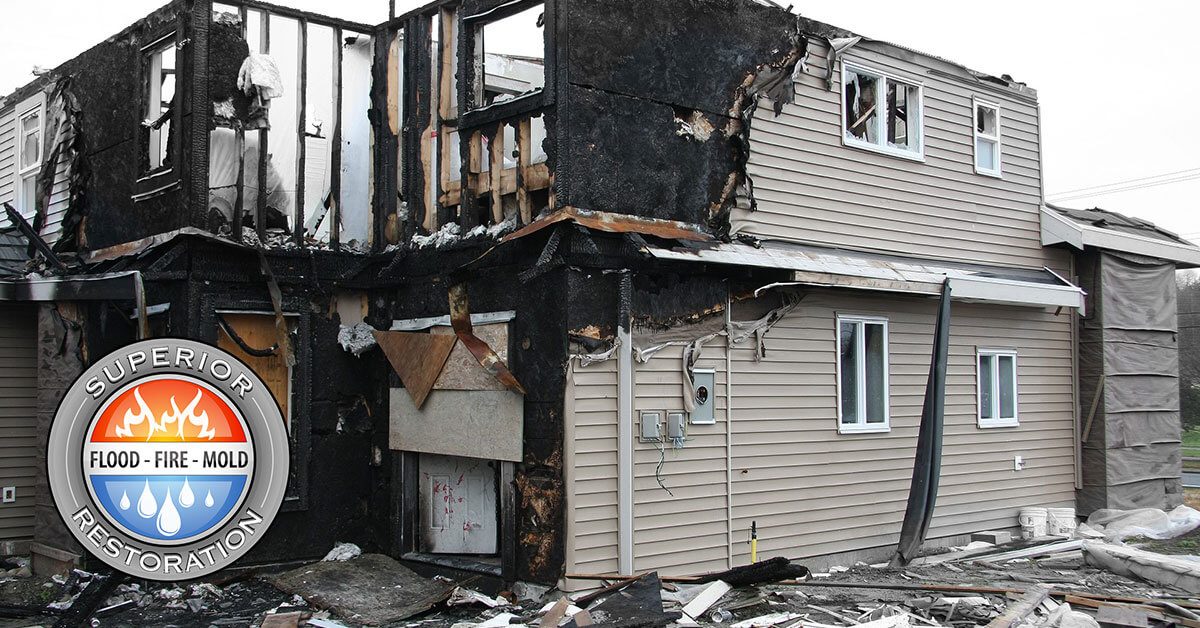 Fire Damage Cleanup in Garden Grove, CA