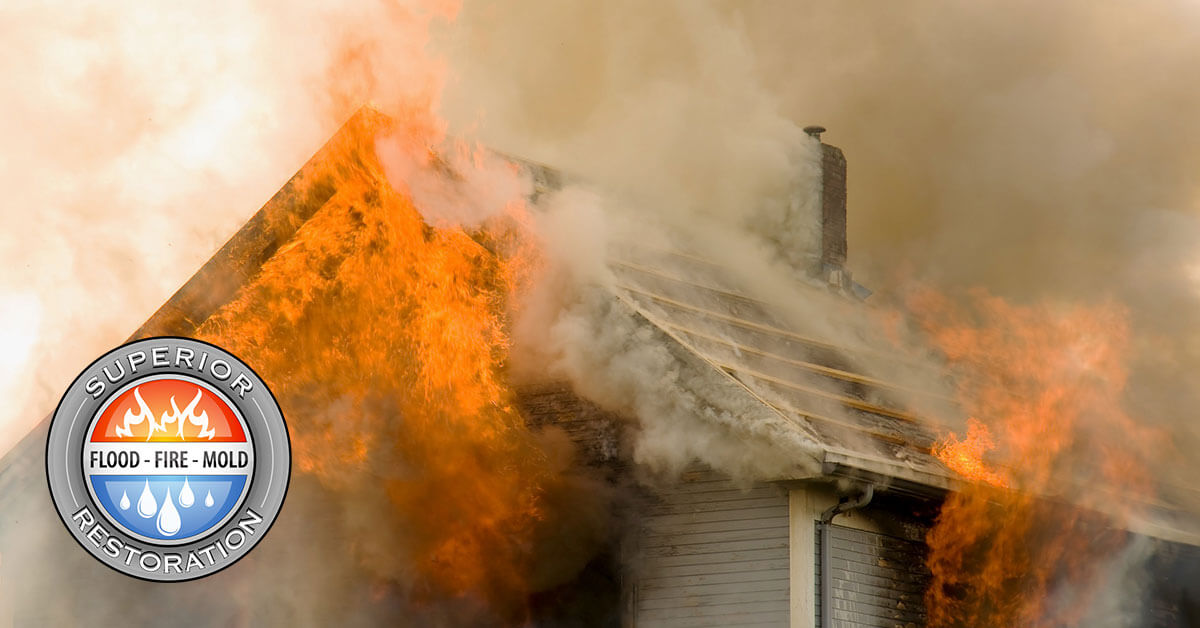 Fire Damage Repair in Vista, CA
