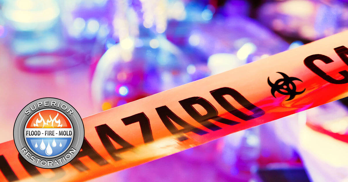 Biohazard Material Removal in Irvine, CA