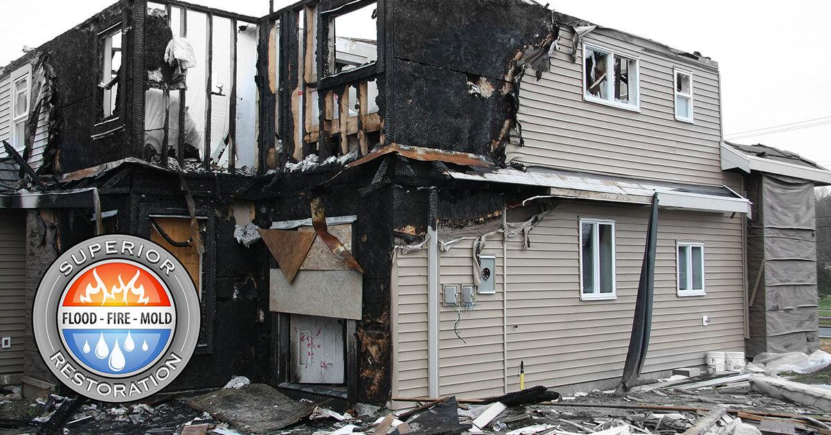 Fire Damage Repair in Fallbrook, CA