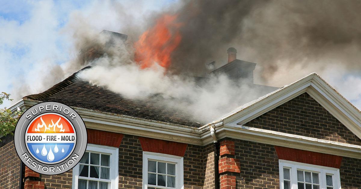 Fire and Smoke Damage Restoration in Vista, CA
