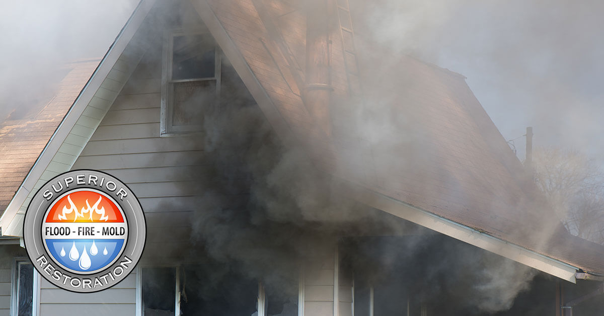 Fire Damage Remediation in Fallbrook, CA