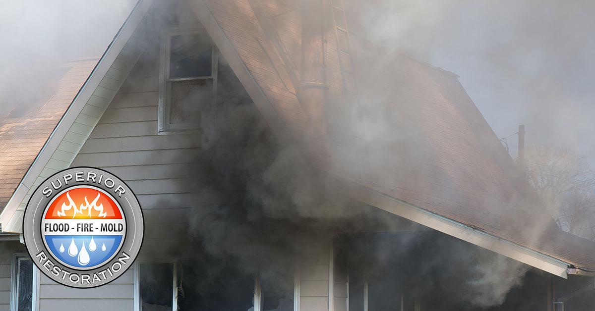 Fire and Smoke Damage Cleanup in La Mesa, CA
