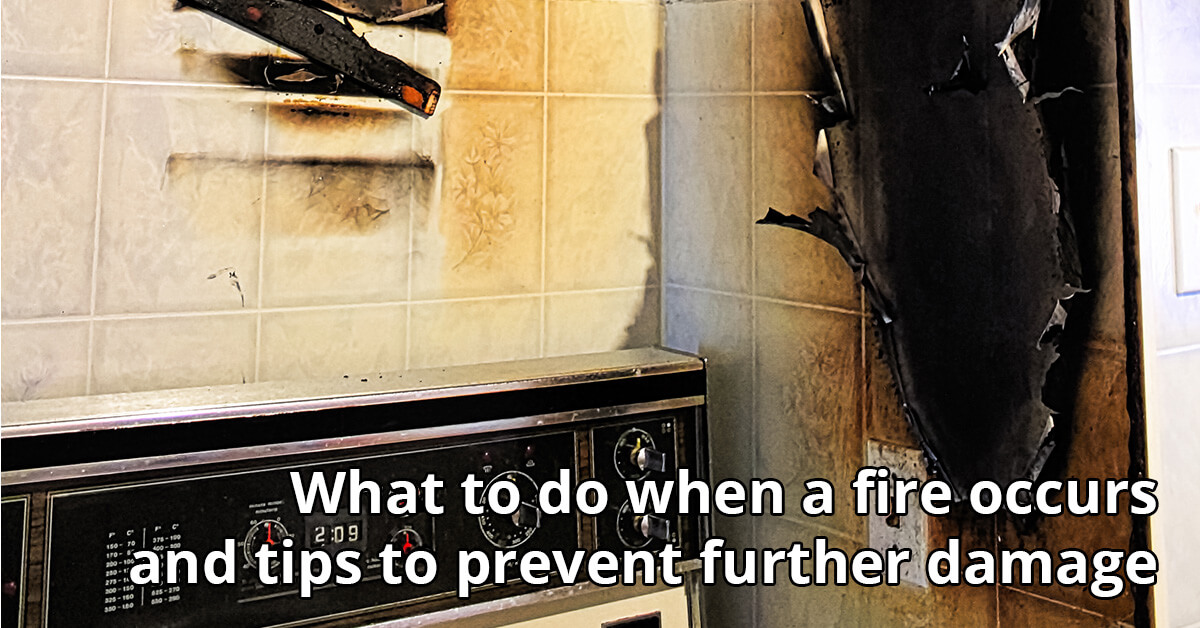Fire and Smoke Damage Cleanup Tips in Oceanside, CA