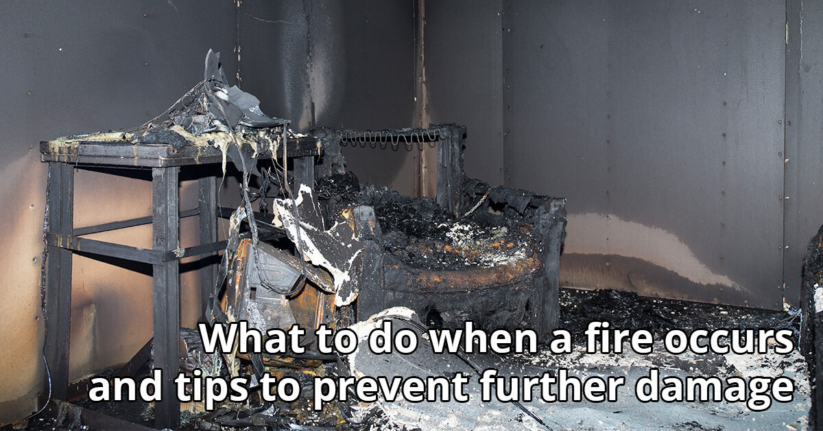Fire Damage Cleanup Tips in Escondido, CA