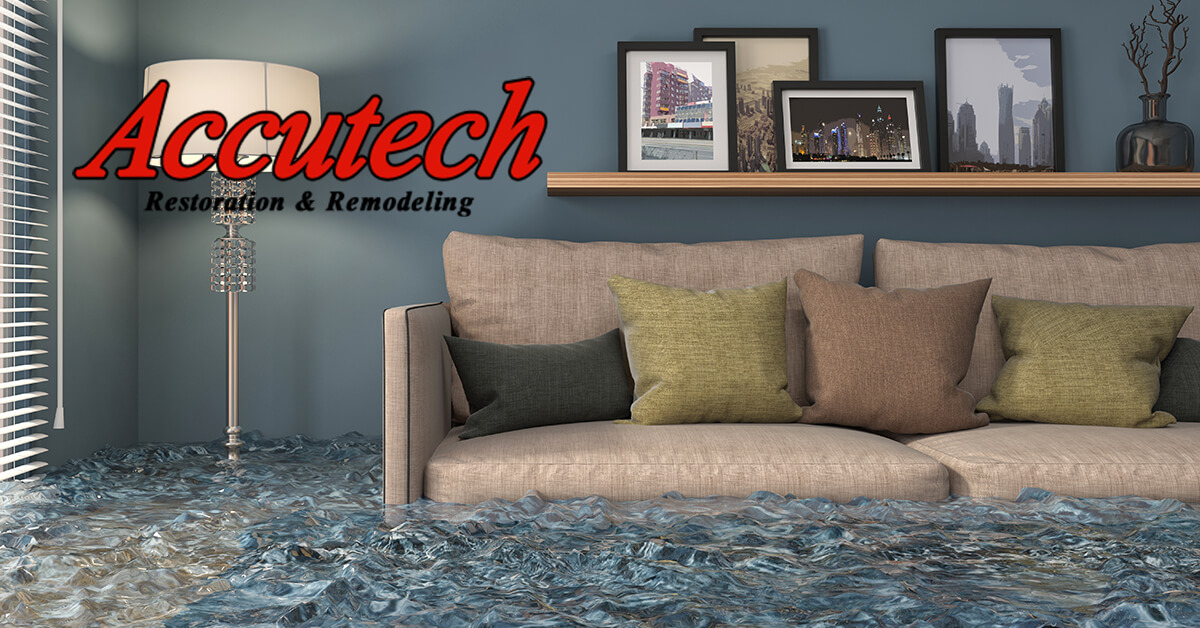 Flood Damage Restoration in Lakewood Ranch, FL