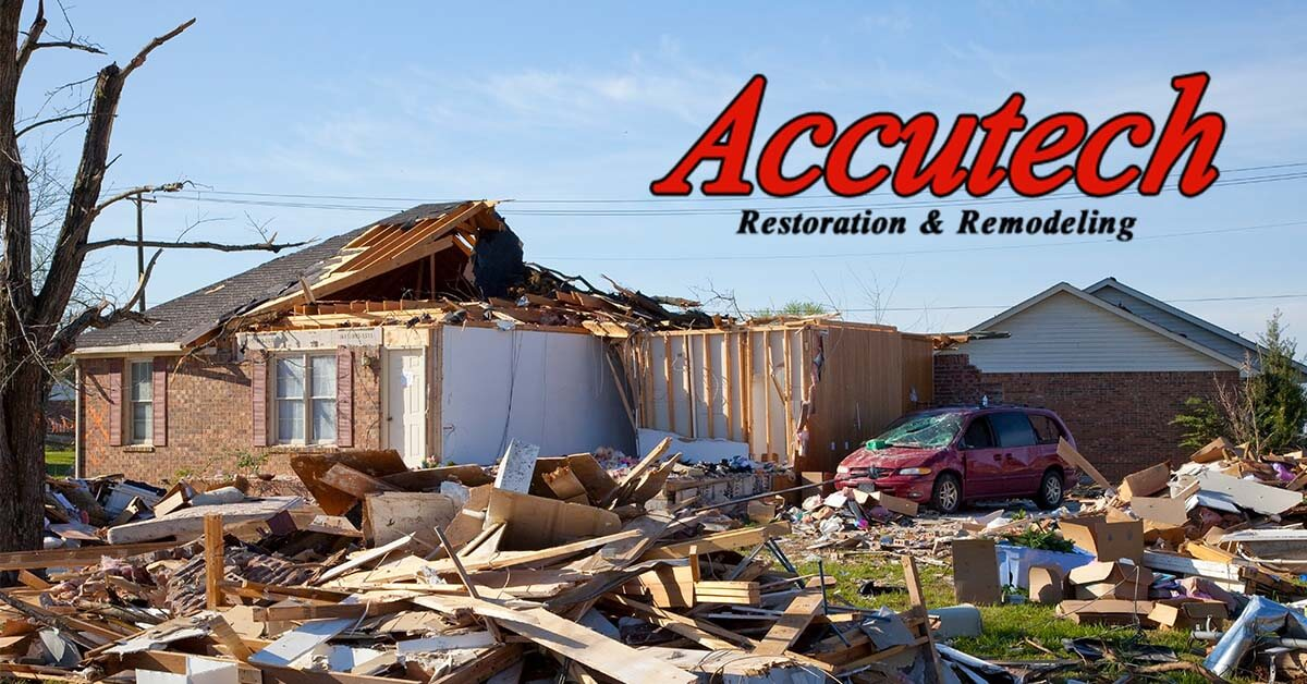 Wind Damage Restoration in Lakewood Ranch, FL