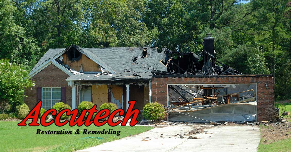 Fire Damage Restoration in North Port, FL