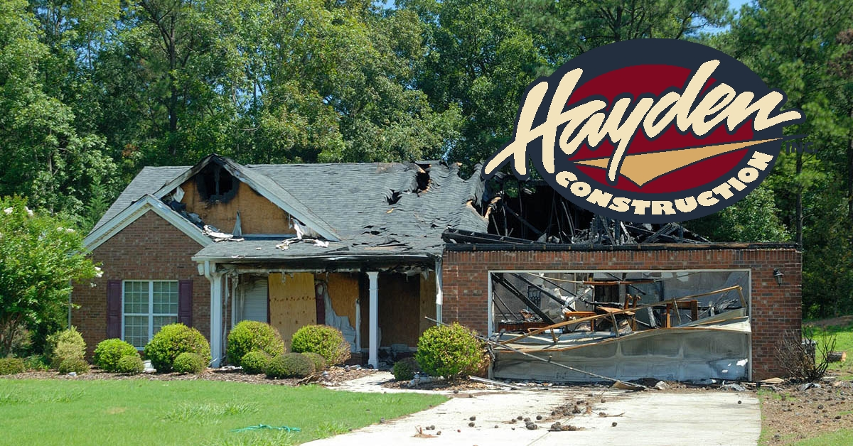 Fire Damage Repair in Southern Pines, NC