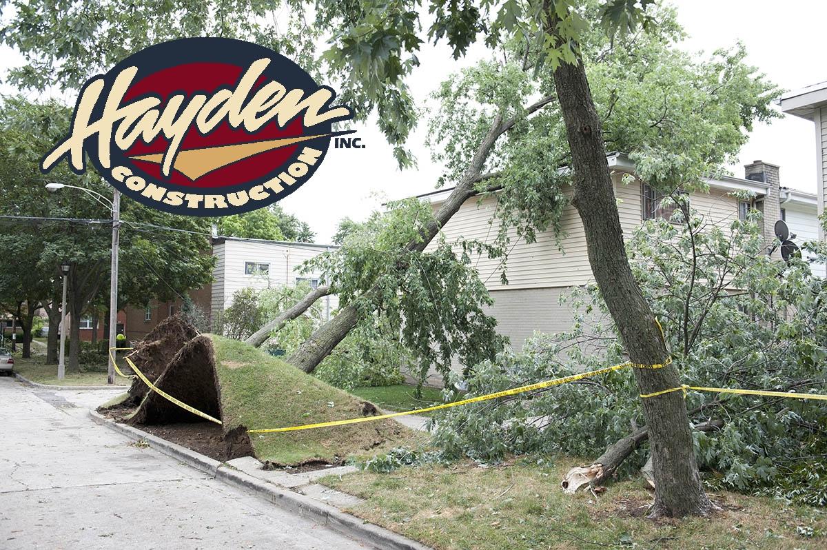 Hurricane Damage Restoration in Pinehurst, NC