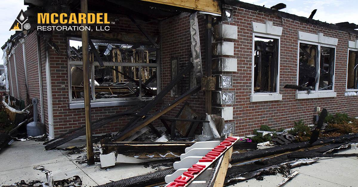 Fire and Smoke Damage Cleanup in Portland, MI