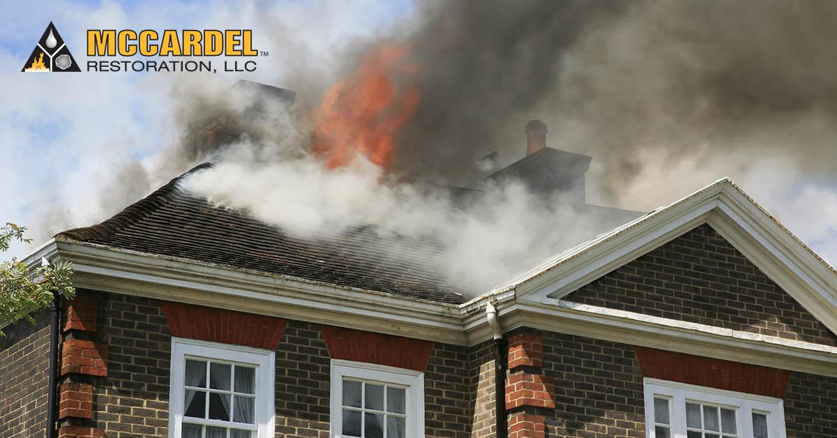Fire Damage Restoration in Webberville, MI