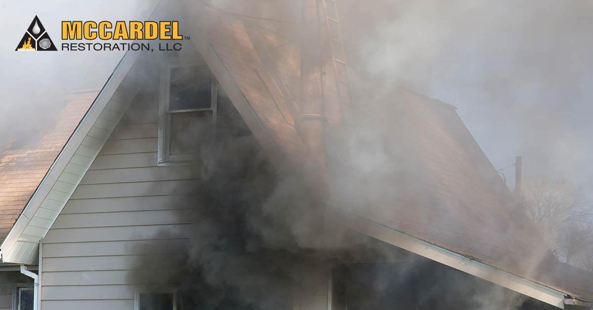 Fire Damage Restoration in Dimondale, MI