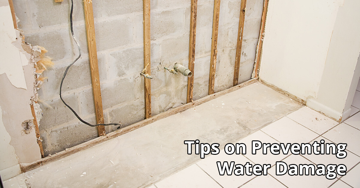 Water Damage Tips in Waverly, MI