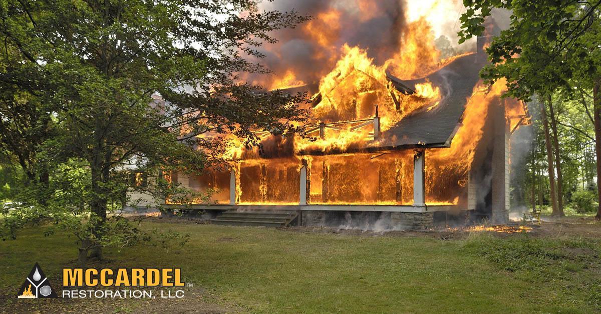Fire Damage Restoration in Eagle, MI
