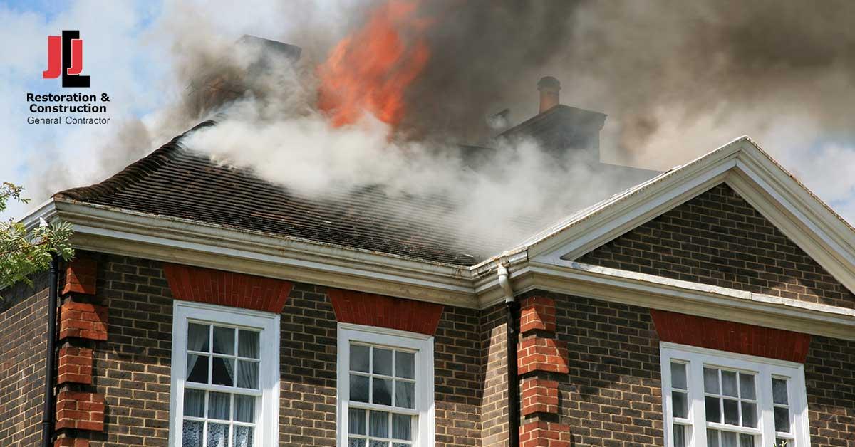 Fire Damage Restoration in Fort Lee, VA