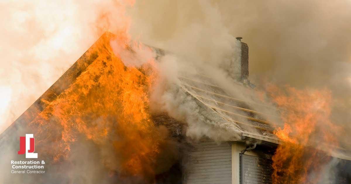 Fire Damage Repair in Fort Lee, VA