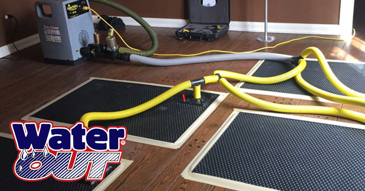 Water Damage Cleanup in Woodburn,IN