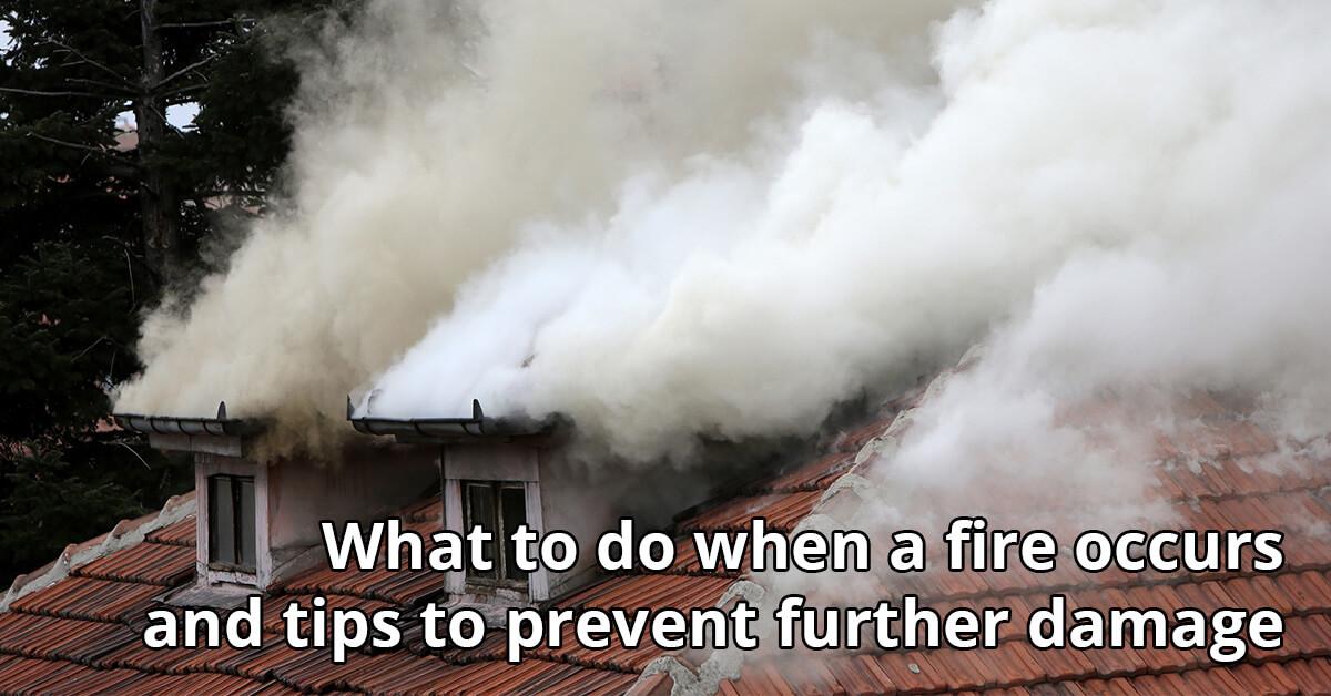 Fire Damage Repair Tips in Huntertown, IN