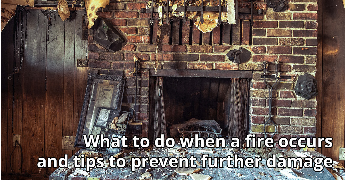 Fire Damage Cleanup Tips in Monroeville, IN