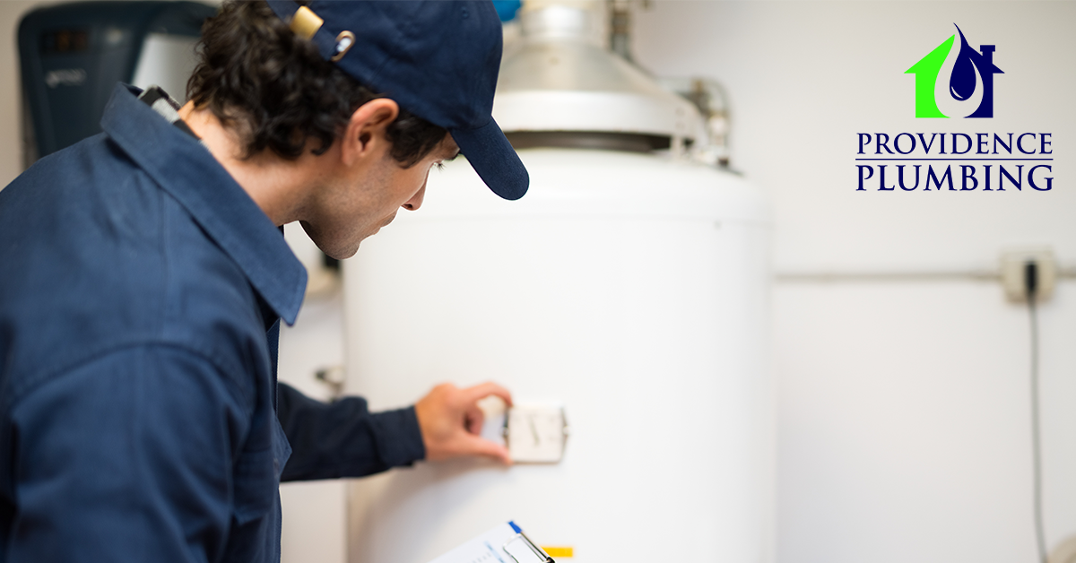 water heater installation in Concord, NC