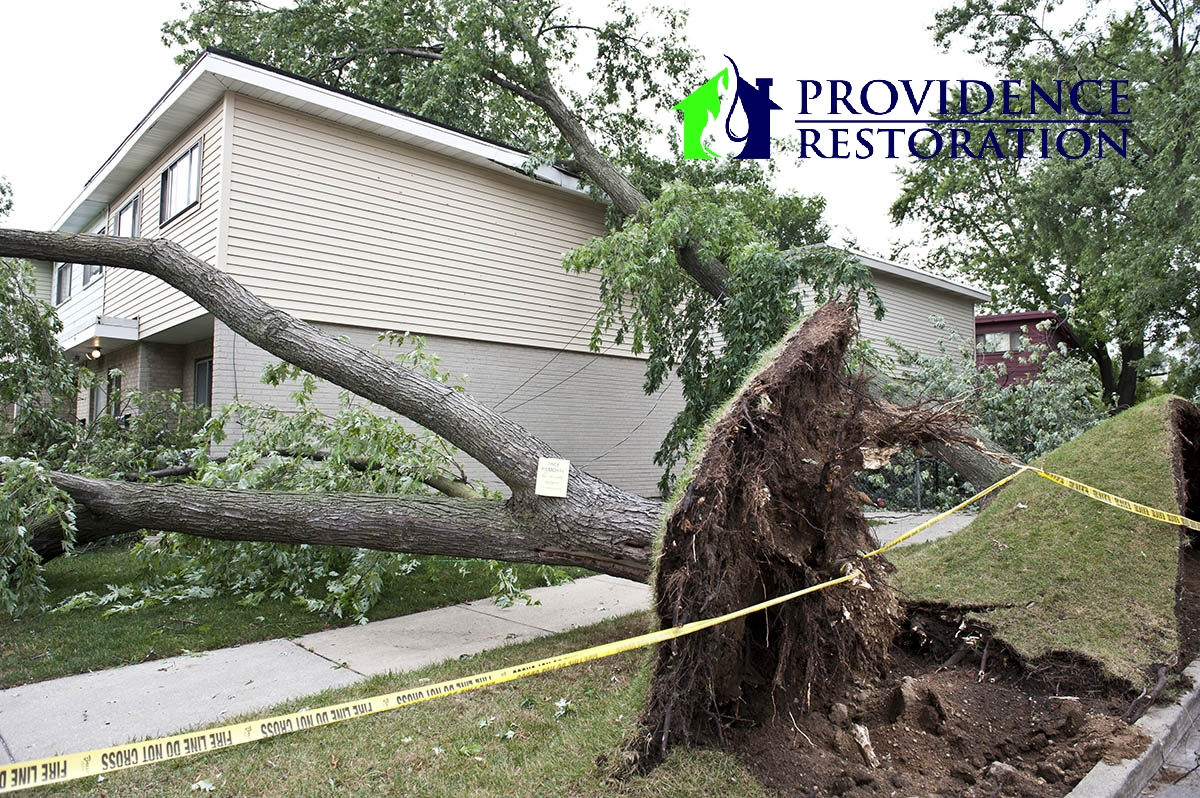 Storm Damage Restoration in Weddington, NC