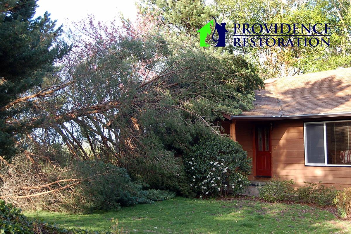 Storm Damage Restoration in Marvin, NC