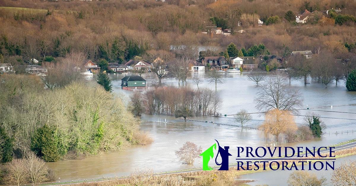 Flood Damage in Indian Trail, NC