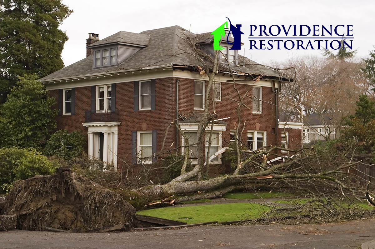 Wind Damage Restoration in Indian Trail, NC
