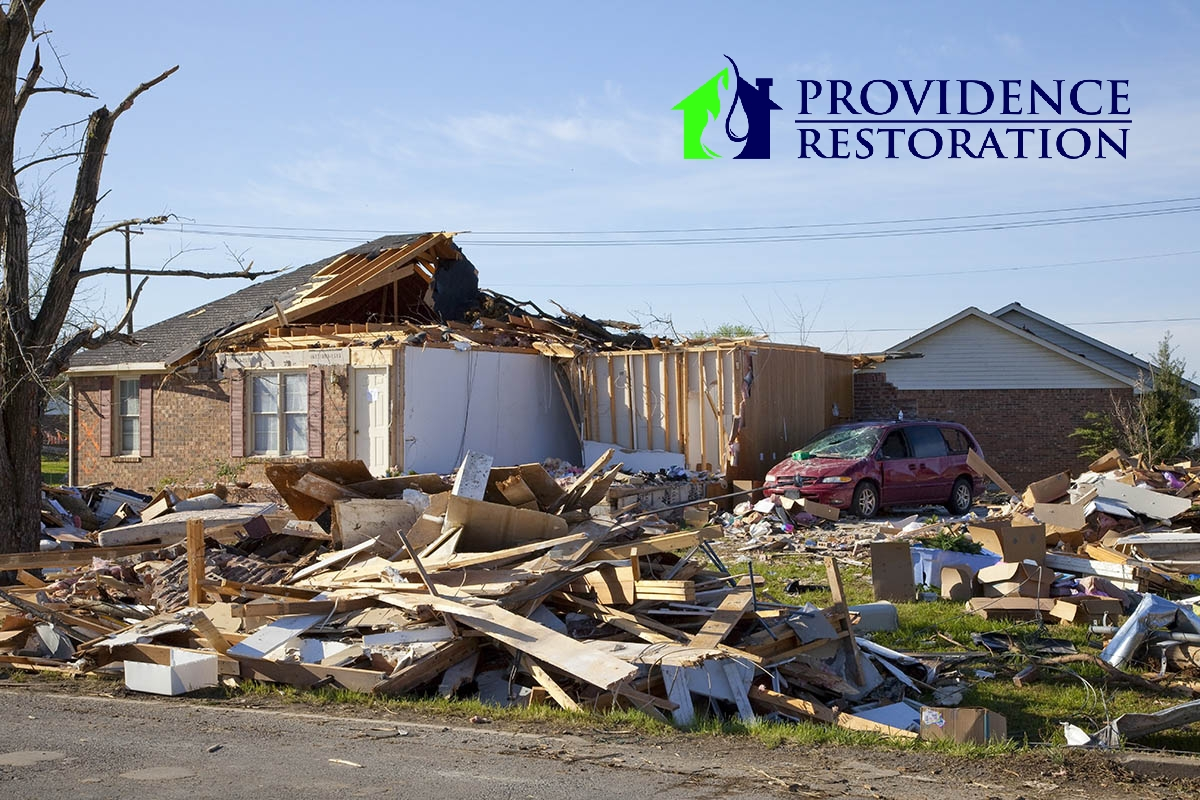 Storm Damage Restoration in Charlotte, NC