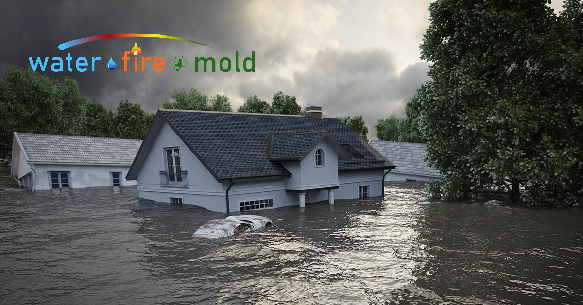Water Damage Cleanup in Algood, TN