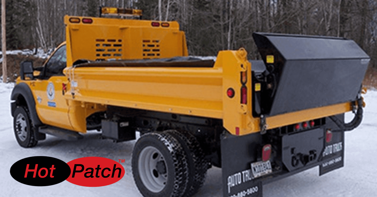 Advanced Asphalt Equipment for Large or Small Asphalt Patching Needs