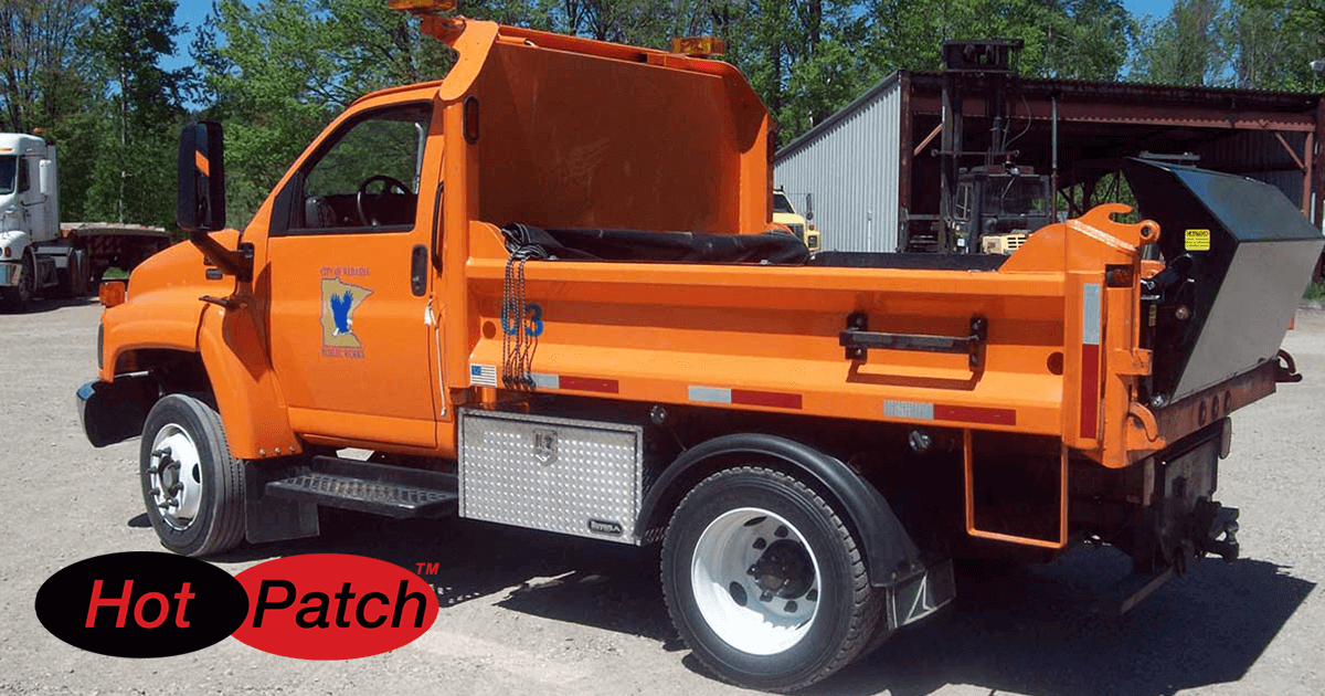 Municipal Truck Asphalt Heater Boxes for Longer Lasting Pothole Repairs