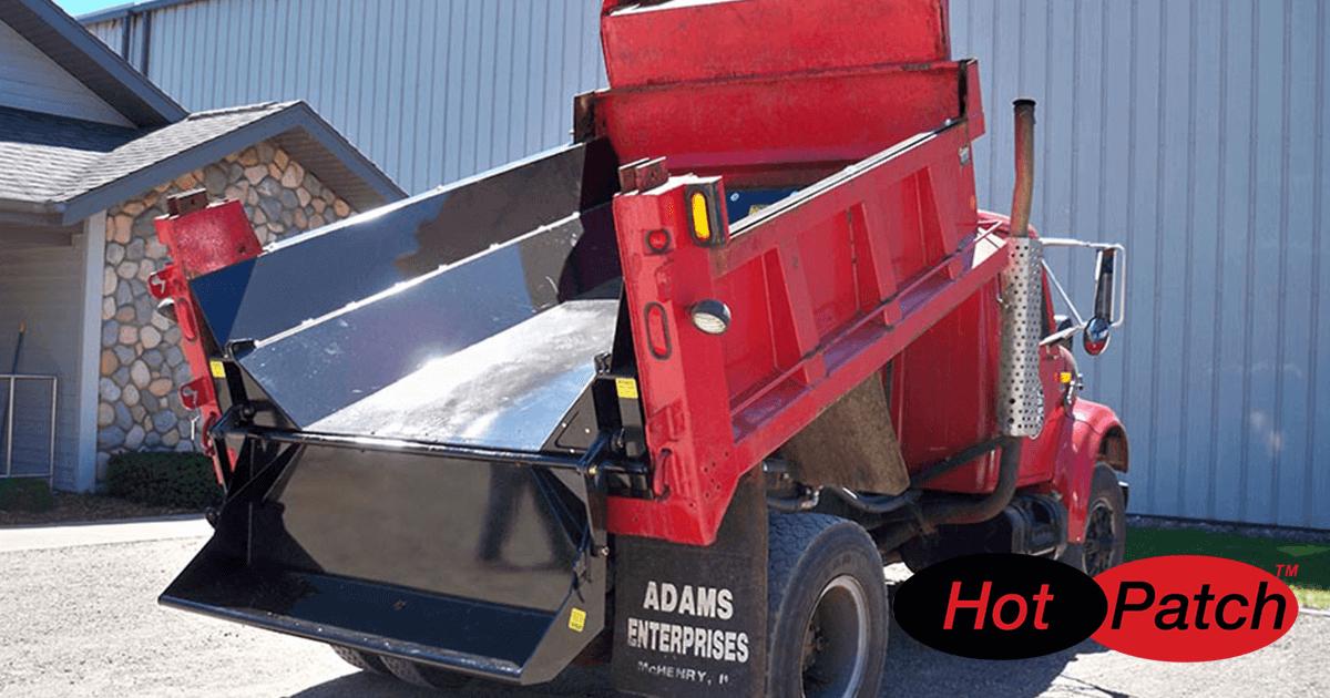 Municipal Truck Asphalt Heater Boxes for University Road Repair