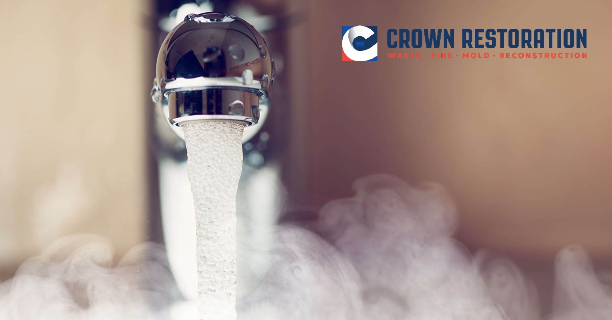 Frozen Water Pipe Leak Repair and Cleanup in Bexar County, TX