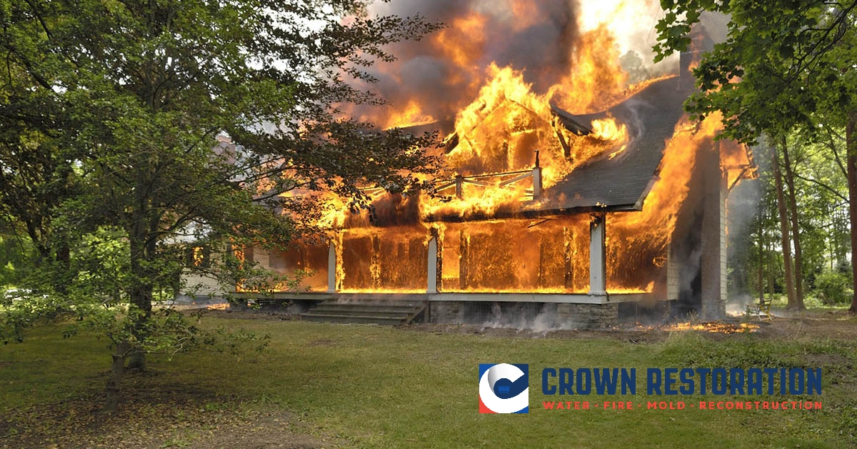 Fire Damage Cleanup in Somerset Texas