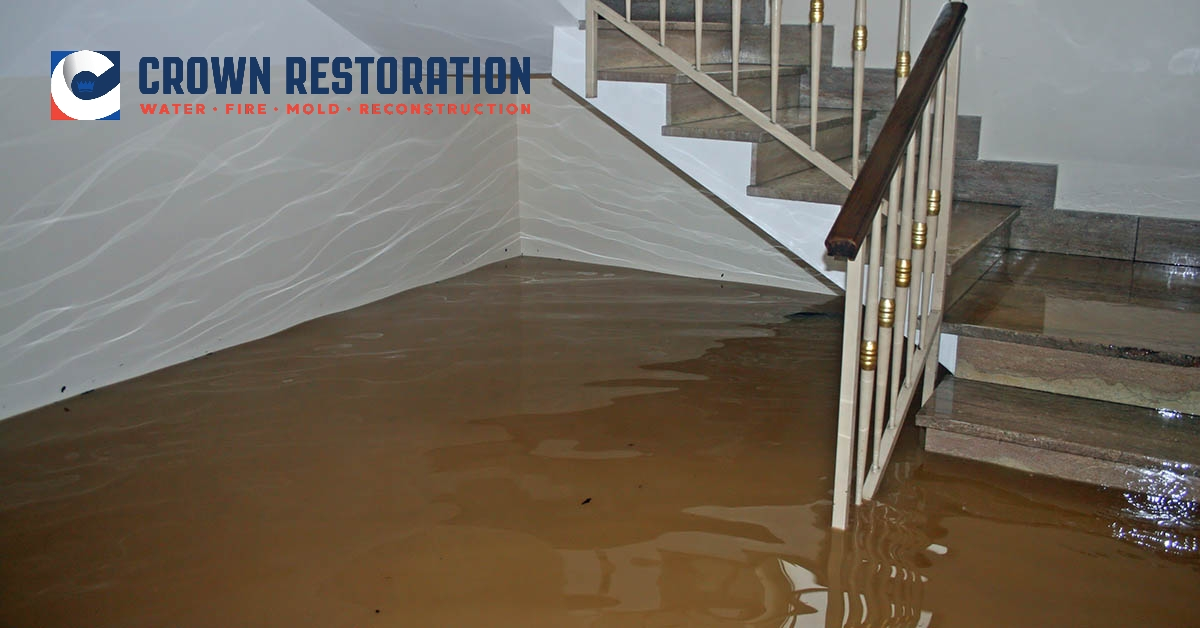 Residential Water Damage Restoration in Somerset Texas