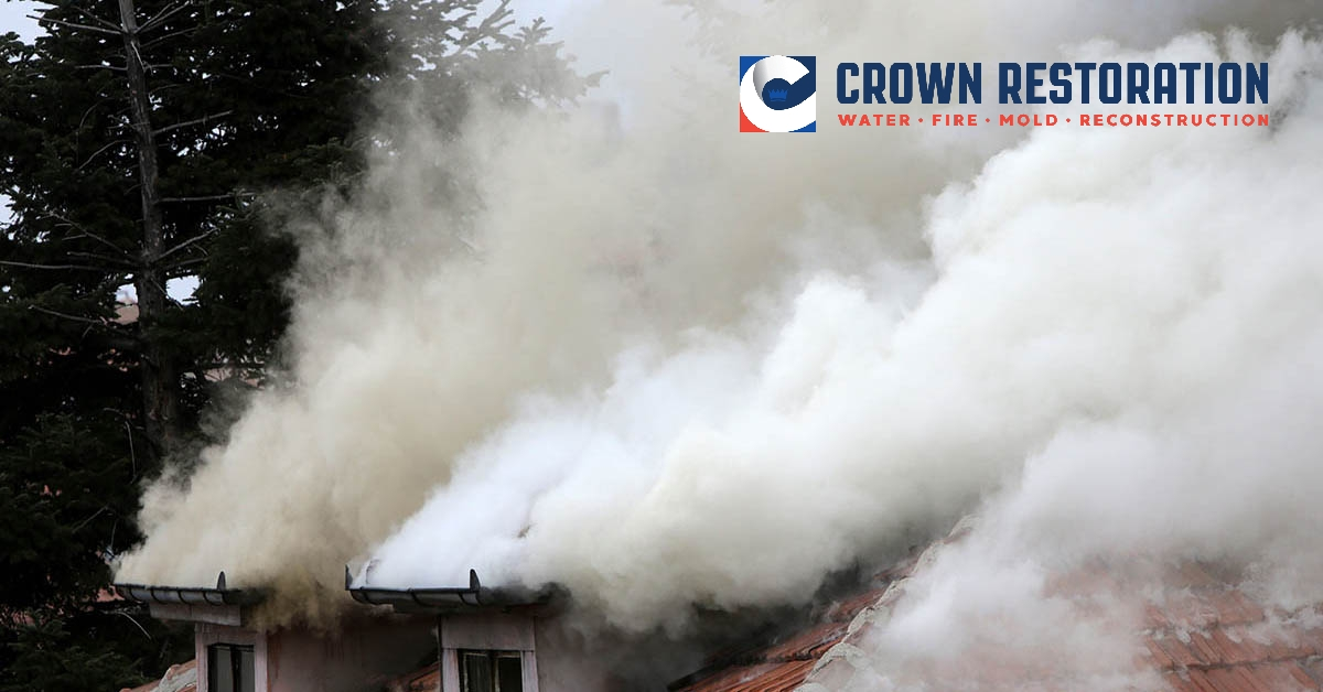 Smoke Damage Cleanup in Grey Forest Texas