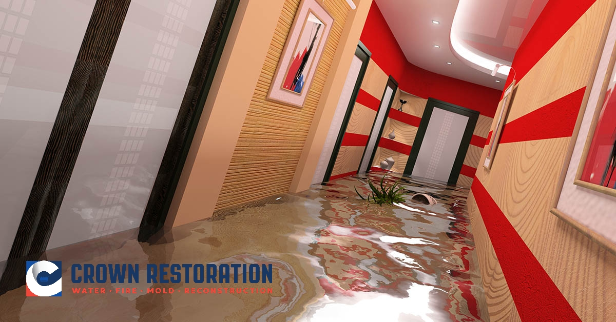 Commercial Water Damage Restoration in Kirby Texas