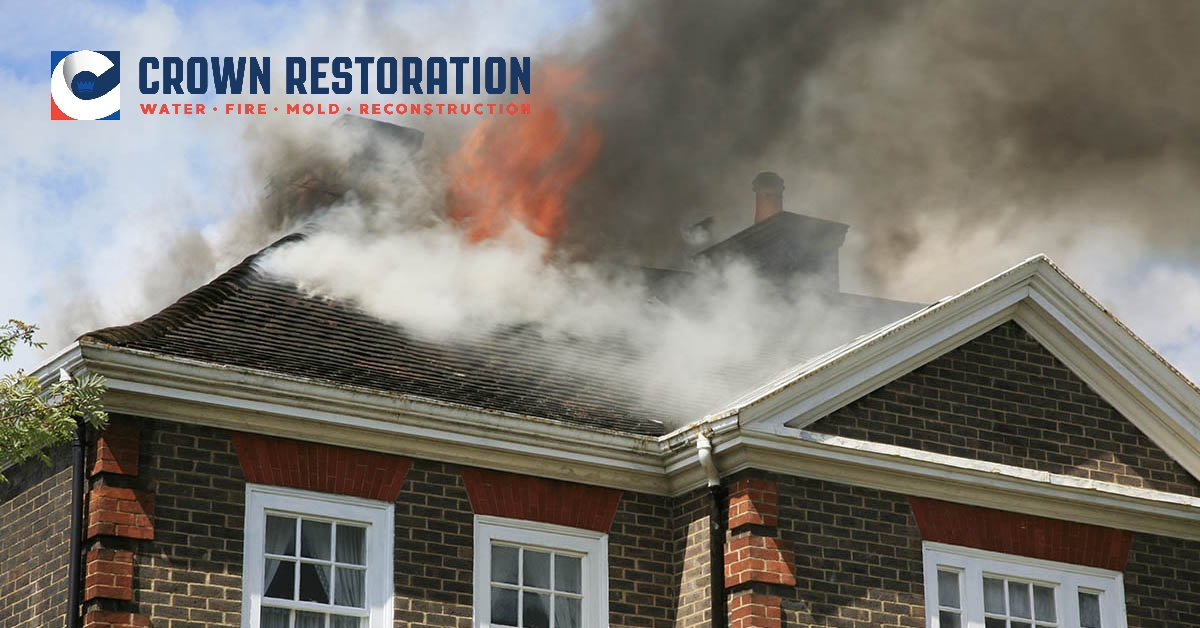 Fire and Smoke Damage Cleanup in Somerset Texas