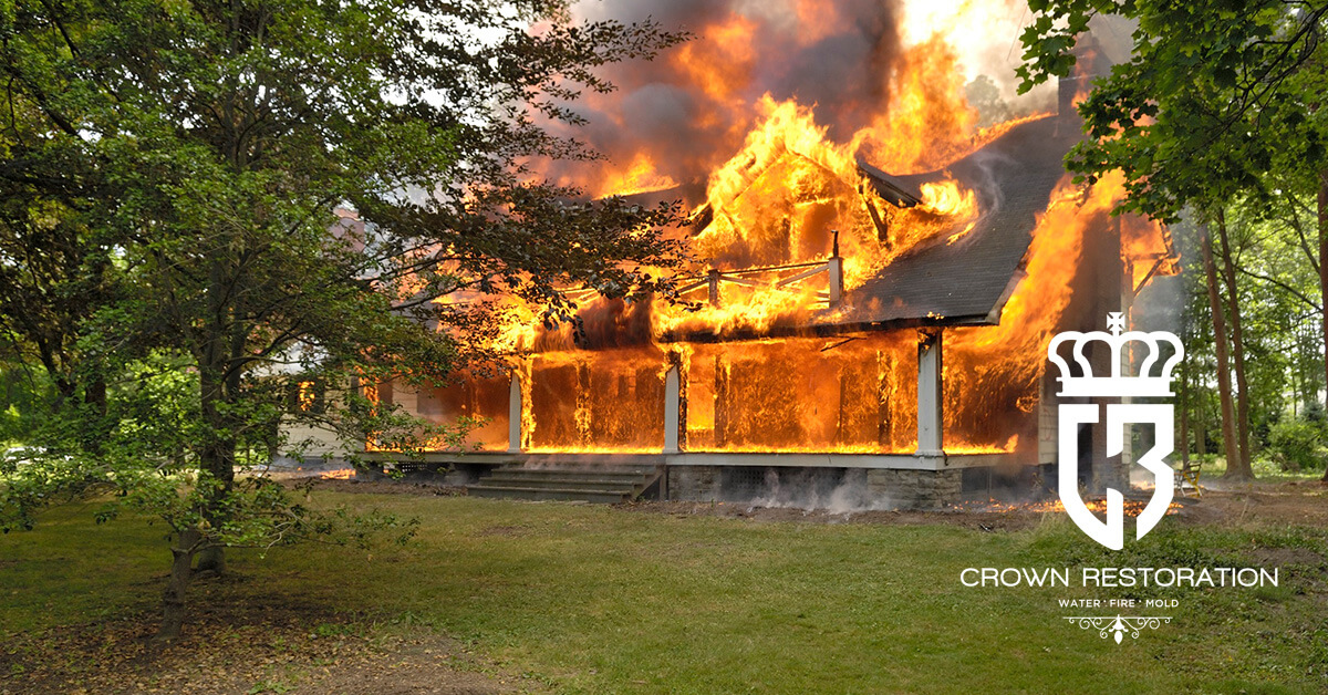 Fire Damage Cleanup in Cross Mountain Texas