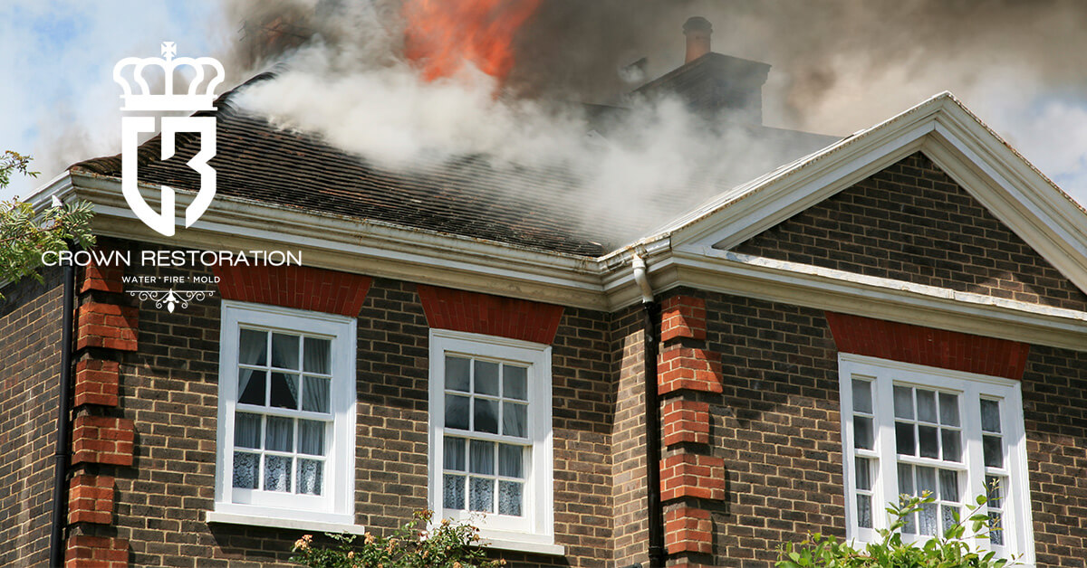 Fire Damage Restoration in Grey Forest Texas