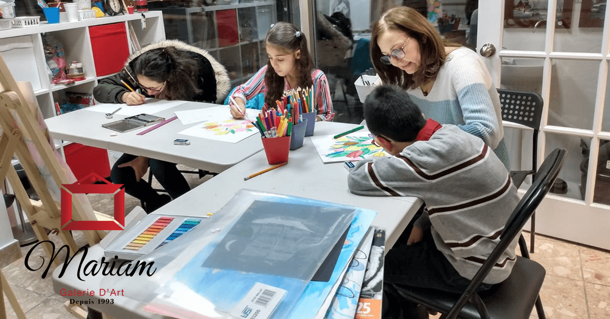 Art Classes in Laval, Quebec, Canada