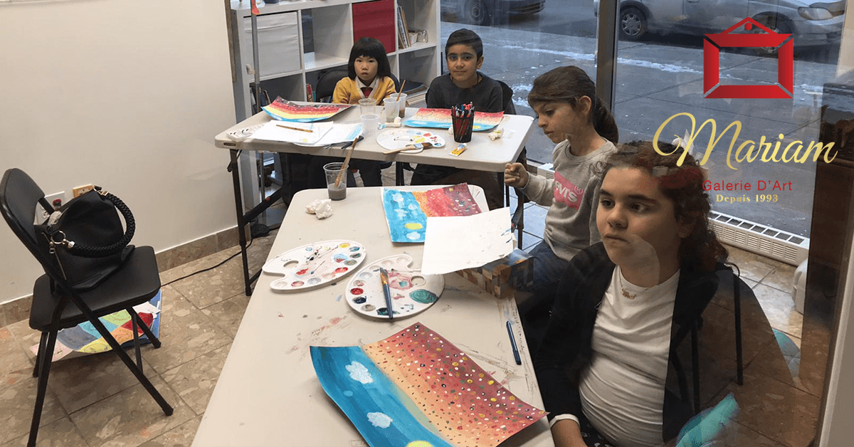 Art Workshops in Brossard, Quebec, Canada